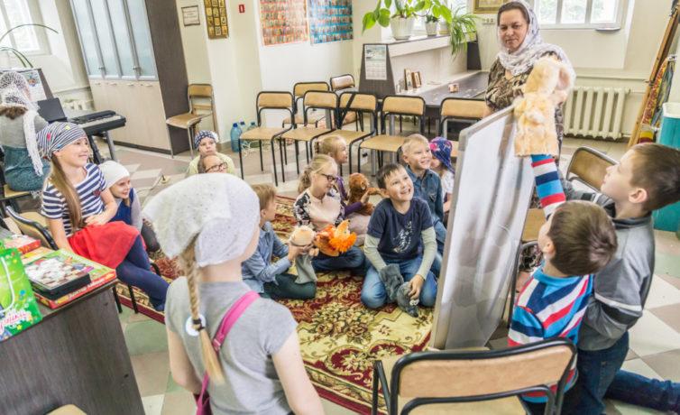 Дневной лагерь Воскресной школы Михайловского собора