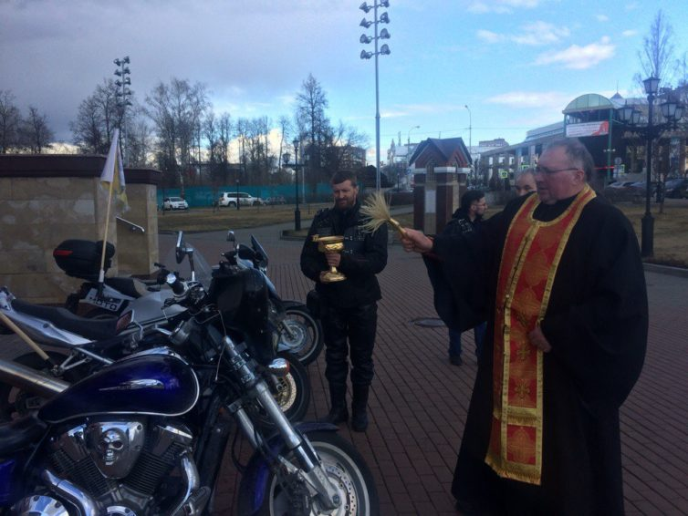православные байкеры