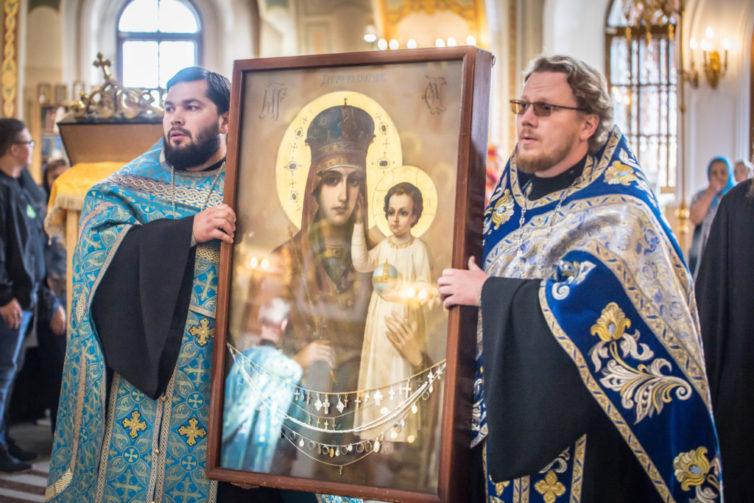 В кафедральном храме Ижевска пребывает чудотворная икона из г. Киева