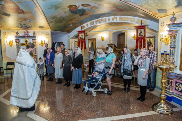 Кафедральный собор посетили семьи с паллиативными детьми