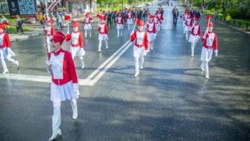 В Ижевске прошел Парад духовых оркестров, приуроченный ко Дню славянской письменности и культуры